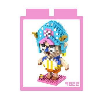 LOZ 鑽石積木 【戰鬥卡通系列】9822-喬巴 益智玩具 趣味 腦力激盪