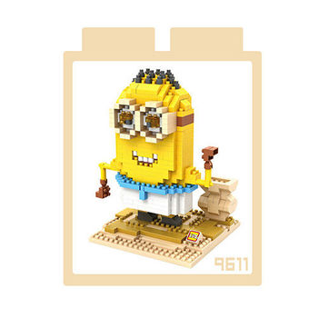 LOZ 鑽石積木 【可愛卡通系列】9611-古埃及小小兵 益智玩具 趣味 腦力激盪