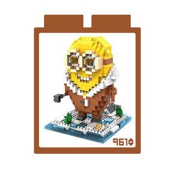 LOZ 鑽石積木 【可愛卡通系列】9610-北極小小兵 益智玩具 趣味 腦力激盪