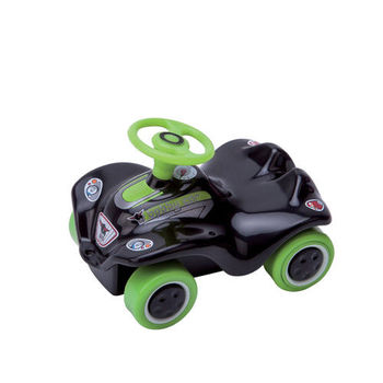 【德國BIG】迷你波比迴力車-新款綠黑色