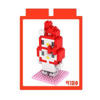 LOZ 鑽石積木 ~kitty卡通裝系列~9180 ^#45 美樂蒂裝 益智玩具 趣味 腦