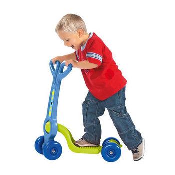 【德國BIG】造型童車-四輪滑板車(藍綠色)