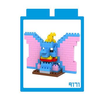 LOZ 鑽石積木 【可愛卡通系列】9171-小飛象 益智玩具 趣味 腦力激盪