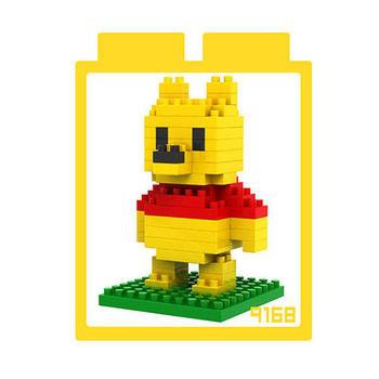 LOZ 鑽石積木 【可愛卡通系列】9168-維尼 益智玩具 趣味 腦力激盪
