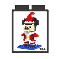 LOZ 鑽石積木 ~可愛卡通系列~9166 ^#45 米奇 益智玩具 趣味 腦力激盪