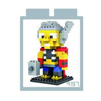 LOZ 鑽石積木 ~英雄系列~9157 ^#45 雷神 益智玩具 趣味 腦力激盪