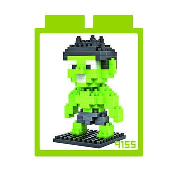 LOZ 鑽石積木 【英雄系列】9155-綠巨人浩克 益智玩具 趣味 腦力激盪