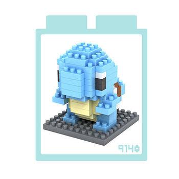 LOZ 鑽石積木 【卡通系列】9140-傑尼龜 益智玩具 趣味 腦力激盪