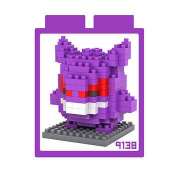 LOZ 鑽石積木 【卡通系列】9138-耿鬼 益智玩具 趣味 腦力激盪