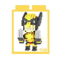 LOZ 鑽石積木 ~X戰警系列~9132 ^#45 金鋼狼 益智玩具 趣味 腦力激盪