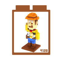 LOZ 鑽石積木 ~卡通系列~9128 #45 胡迪警長 益智玩具 趣味 腦力激盪
