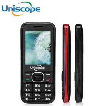 【優思Uniscope】W108+ 雙卡2.4吋3G老人/軍人/園區機(公司貨)