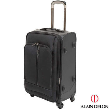 ALAIN DELON~亞蘭德倫  24吋尊爵獨特系列旅行箱(黑)