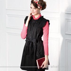 【ohoh-mini孕婦裝】甜美花漾低腰蝴蝶綁帶哺乳洋裝