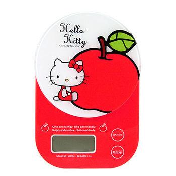 Hello Kitty 粉嫩電子料理秤-圓蘋果(SC-884-KT)