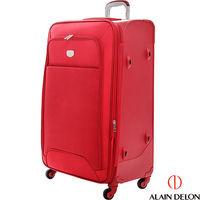 ALAIN DELON ^#126 亞蘭德倫 28吋尊爵專利出國旅行箱 ^#40 紅 ^#