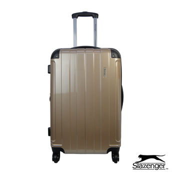 Slazenger~ 史萊辛格 28吋 時尚晶鑽系列行李箱 (香檳金)