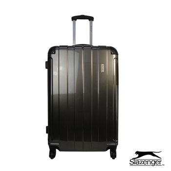 Slazenger~史萊辛格 24吋 時尚晶鑽系列行李箱 (銀灰)
