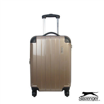 Slazenger~ 史萊辛格 20吋 時尚晶鑽系列行李箱 (香檳金)