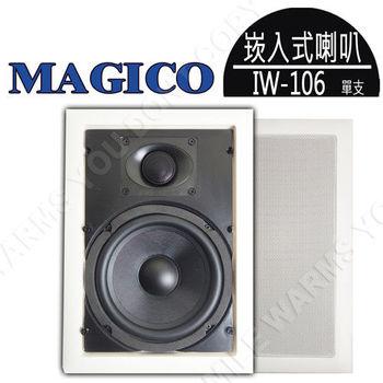 MAGICO IW-106 6.5吋 方形專業吸頂嵌壁式喇叭