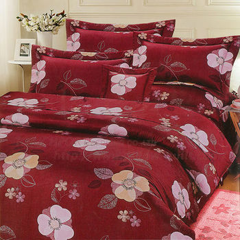 【Victoria】眷戀 雙人五件式純棉床罩組