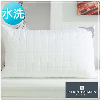 【PB皮爾帕門】超Q彈可水洗纖維舒適枕