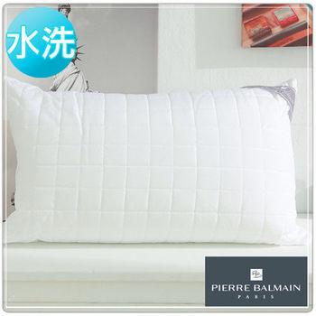 【PB皮爾帕門】超Q彈可水洗纖維舒適枕-2入組