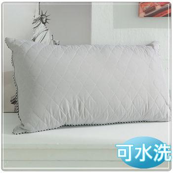 【JOY】可水洗鋪棉竹炭枕
