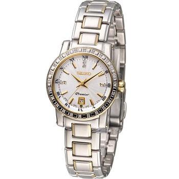 SEIKO Premier 經典閃耀仕女腕錶 7N82-0JJ0S SXDG58J1 雙色