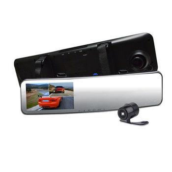 LtS 雙鏡頭 前後同錄 高畫質 Full HD 1080P 後視鏡型 行車紀錄器