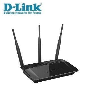 D-Link友訊 DIR-809 Wireless AC750 雙頻無線路由器+DWA-121 Wireless N 150 Pico USB 無線網路卡