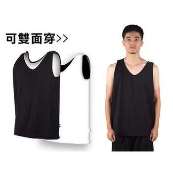 【MJ3】雙面穿男籃球背心-運動背心 休閒背心  顏色1