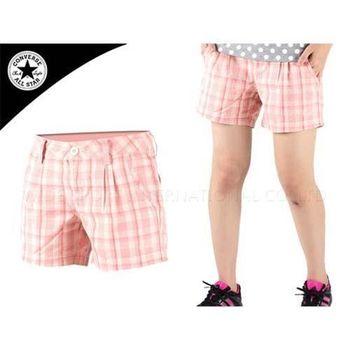 【CONVERSE】女短褲  橘白