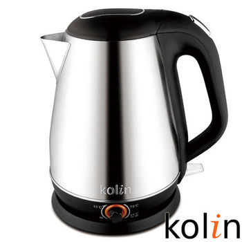 歌林Kolin-1.8L可調溫不鏽鋼快煮壺(KPK-MN1826S)