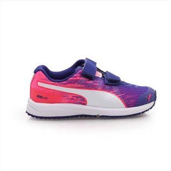 【PUMA】FAAS 300 V4 V KIDS 男女兒童慢跑鞋 跑步 紫粉紅