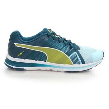 【PUMA】FAAS 300 S V2 女慢跑鞋- 路跑 湖水藍芥末黃