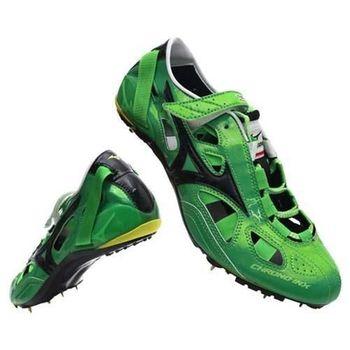 【MIZUNO】CHRONO INX9日製男女田徑釘鞋 日本製 短距離  綠黑