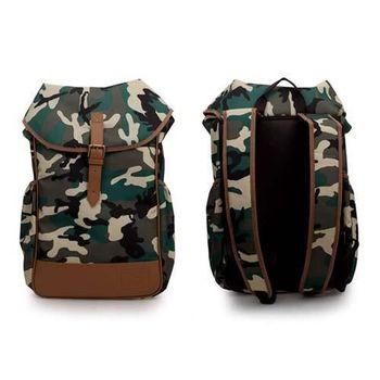 【PUMA】後背包- 雙肩包 肩背包 旅行包 迷彩