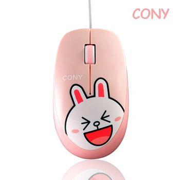 LINE FRIENDS 兔兔有線滑鼠
