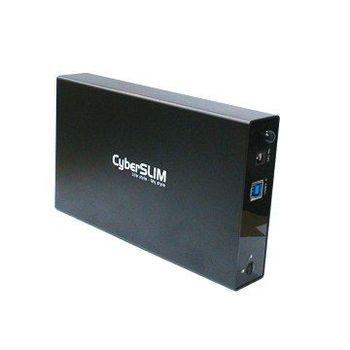 【CyberSLIM 】 S80PLUS 3.5吋 USB3.0 硬碟外接盒