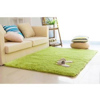 【幸福揚邑】舒壓長毛羊絲絨超軟防滑吸水地毯-80x160cm-共五色