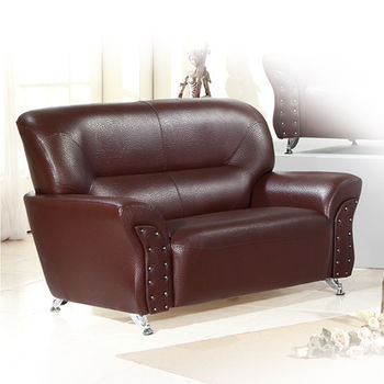 品生活 後工業風格造型雙人沙發 -(168)