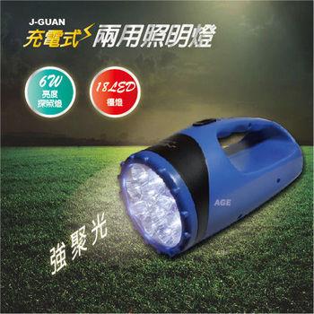 晶冠 充電式兩用照明燈 / 探照燈 / 檯燈_JG-FR680