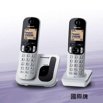 【Panasonic國際牌】DECT免持擴音雙子數位電話 KX-TGC212TW
