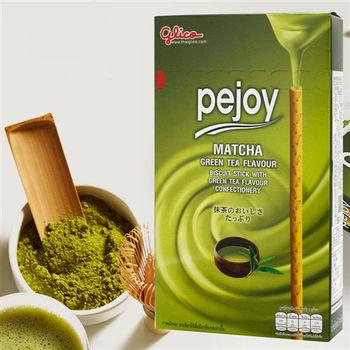 【glico固力果】pejoy 爆漿抹茶巧克力棒x20盒入