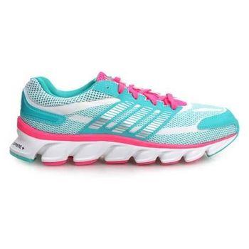 【ADIDAS】POWERBLAZE K 女大童慢跑鞋  童鞋 愛迪達 湖水綠桃紅
