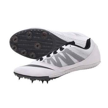【NIKE】ZOOM RIVAL S 7 男女田徑釘鞋- 競賽 短距離  白黑