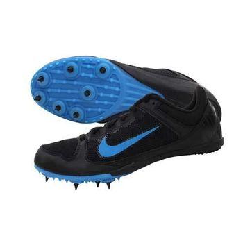 【NIKE】ZOOM RIVAL MD 7 男女田徑釘鞋 短距離 中距離 黑藍