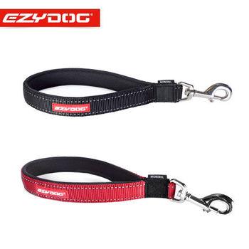 【EZYDOG】澳洲 短版尼歐牽繩30cm 黑/紅