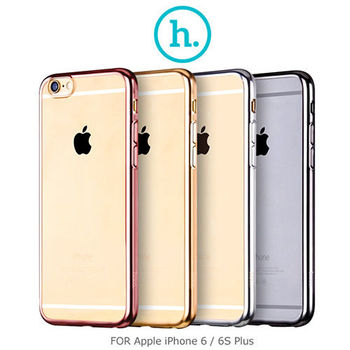 【HOCO】Apple iPhone 6 / 6S Plus 布萊電鍍保護套